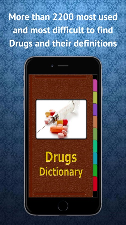Drugs Dictionary & Description