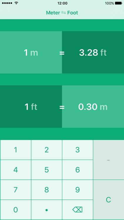 Meters to Feet | Meter to Foot | m to ft
