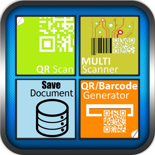 Fast and easy Barcode Scanner and QR Code Reader & Generator with various types of barcode and qr code .