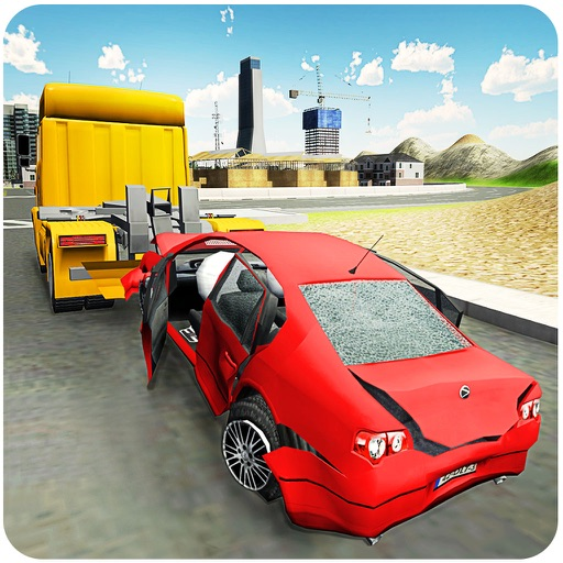 Car Tow Truck 3D – Heavy towing crane simulation iOS App