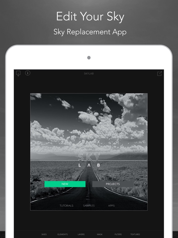 SkyLab Photo Editor Screenshots