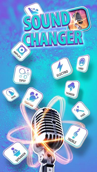 点击获取Sound Changer & Voice Filter Effect – Record Sound with Voice Command Effects