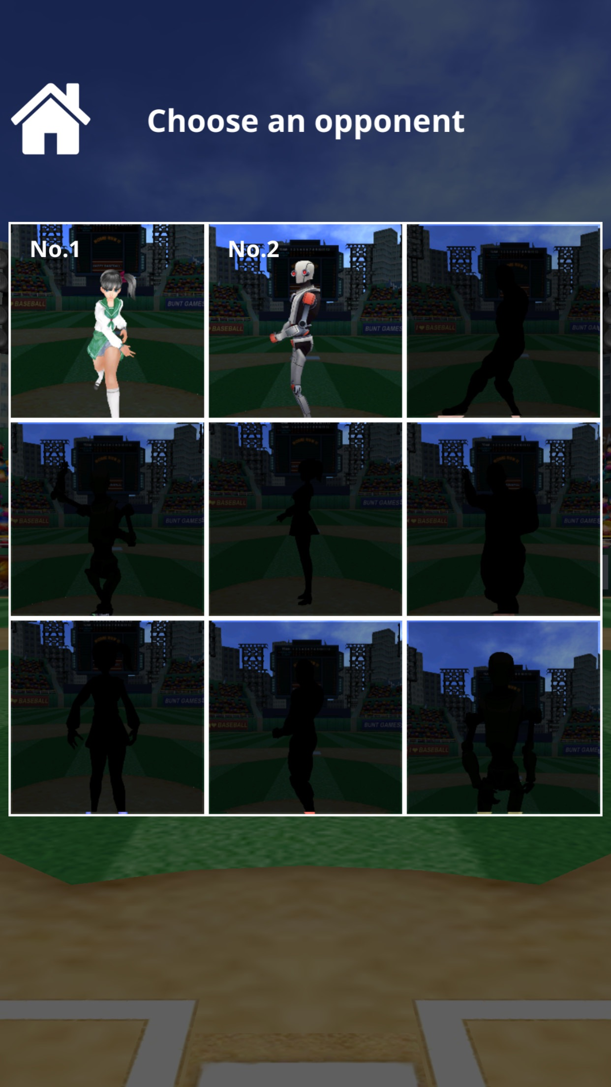 Home Run X 3D - Baseball Batting Game Screenshot