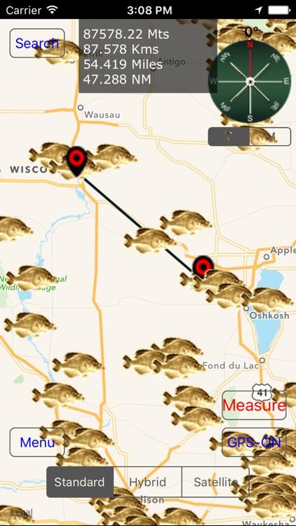 Wisconsin: Fishing Lakes screenshot-3