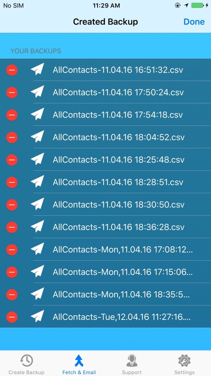 Contacts Backup - Manage, Copy, Backup and export your address book
