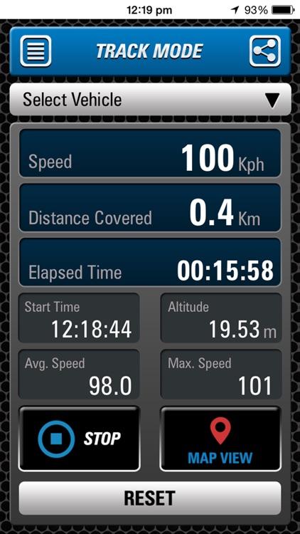 Speedometer Race & Track Pro screenshot-3