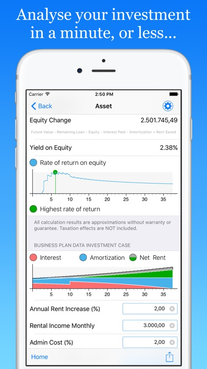 ImmoByte Home Mortgage Calculator helps you compare loan terms, interest rates and more to find the best deal.