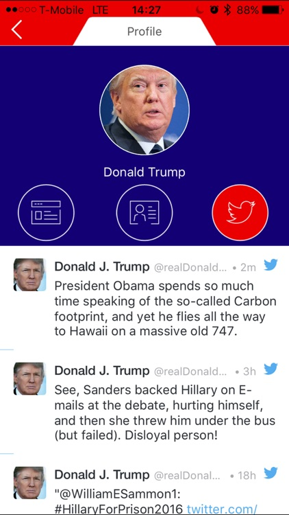2016 US Presidential Election App - Real Politics News screenshot-3
