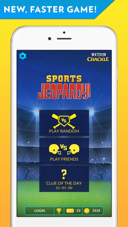 Sports Jeopardy! - Quiz game for fans of football, basketball, baseball, golf and more screenshot-0