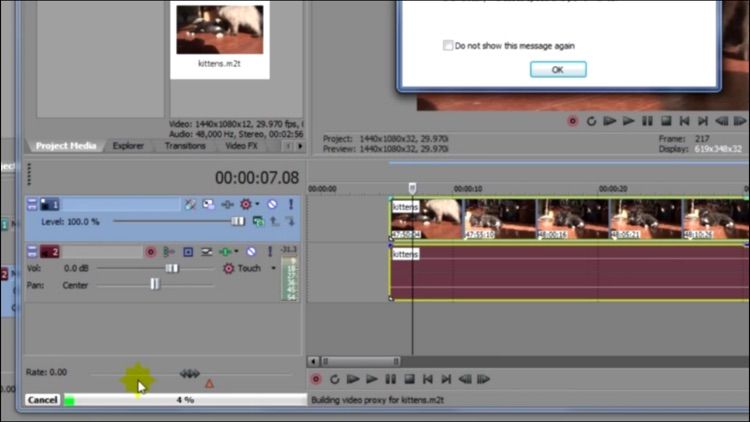 Training for Sony Vegas 12 - Made Simple V#1 screenshot-2