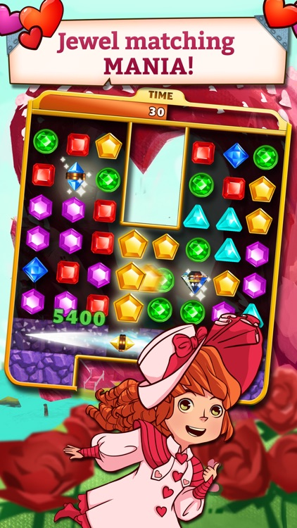 Jewel Mania: Valentine's screenshot-1