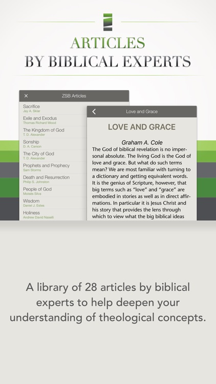 NIV Zondervan Study Bible screenshot-4