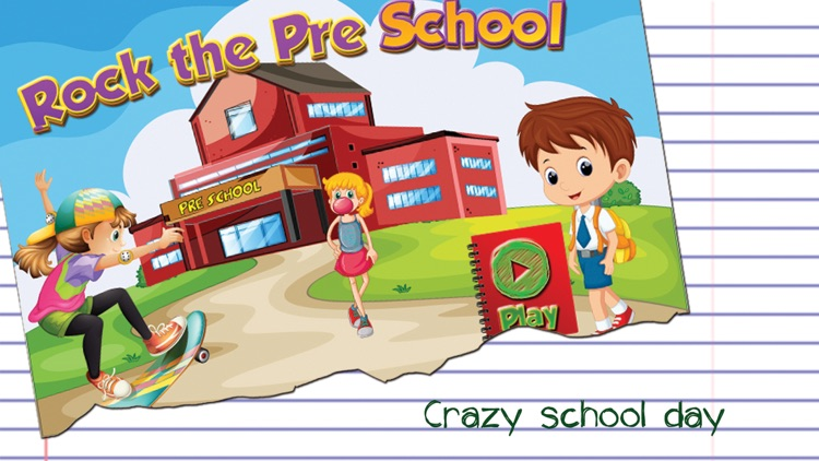 Rock The Preschool - A Complete Educational Learning Game For School Days
