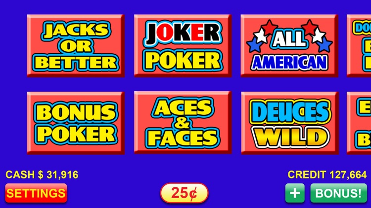 Video Poker - FREE Las Vegas Casino Video Poker Suite Classic Deluxe Games screenshot-4