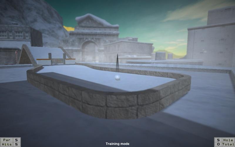 MiniGolf in Frozen City