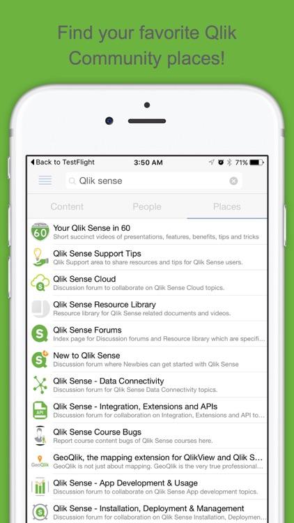 Qlik Community Mobile by QlikTech