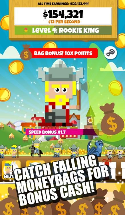 Pixel Vikings! Army Clicker screenshot-3