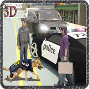 犯罪大通2016年 - 狗救援任务,巡逻警车行动,真正的警灯和女妖