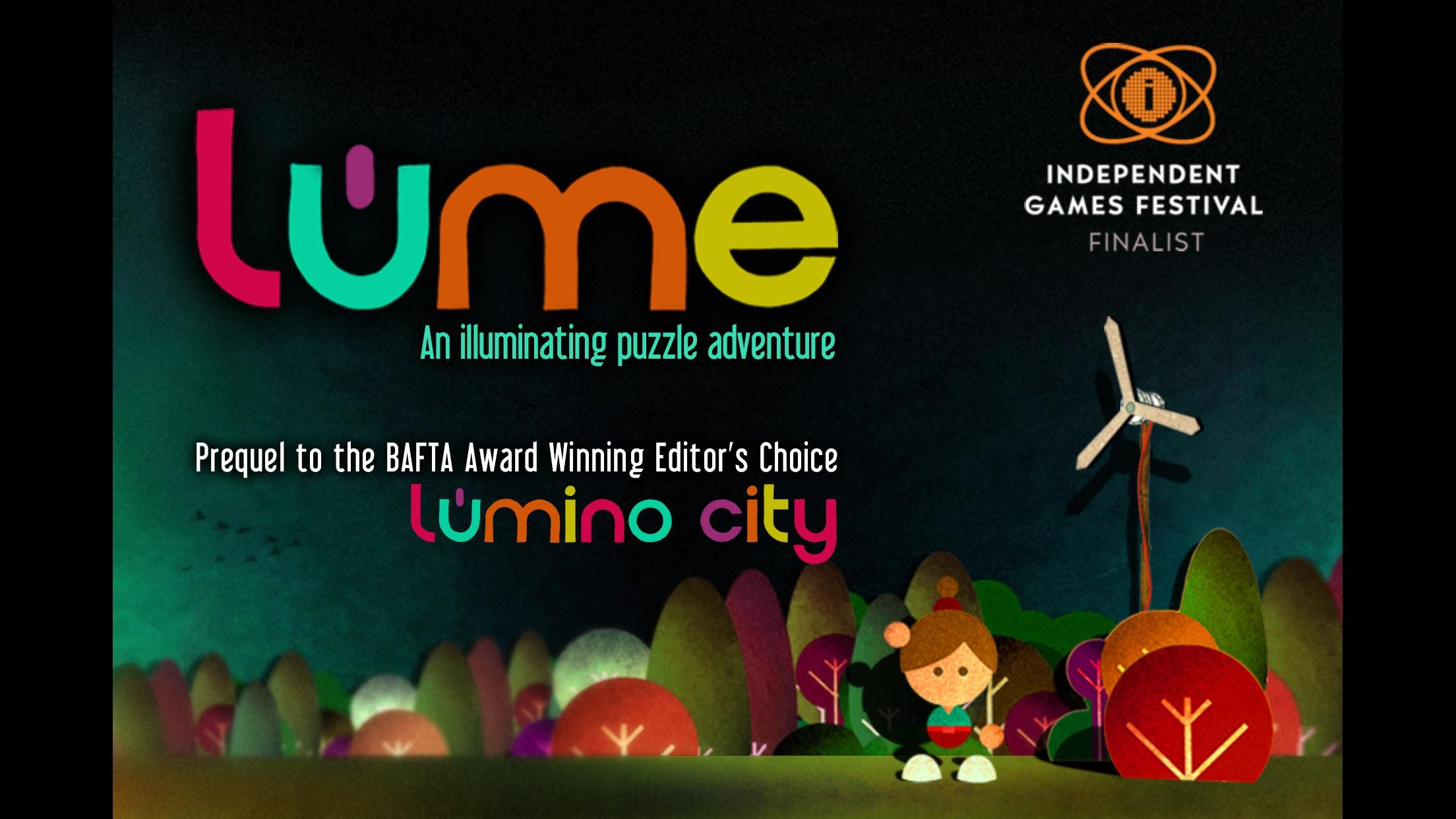 Screenshot do app Lume