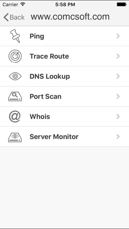 iNetTools Pro - Network Diagnose Tools screenshot-3