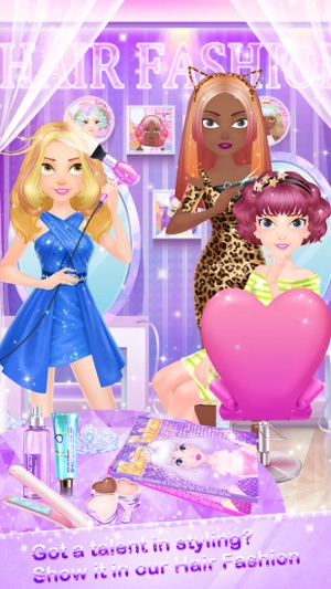 Dress up hair fashion 95
