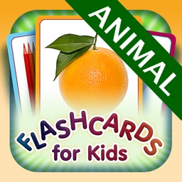 Animal for kids - Learn My First Words with Child Development Flashcards