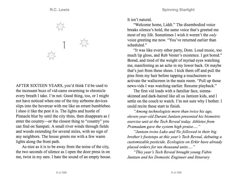 Spinning Starlight By Rc Lewis On Apple Books