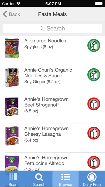 Dairy Free Food screenshot-0