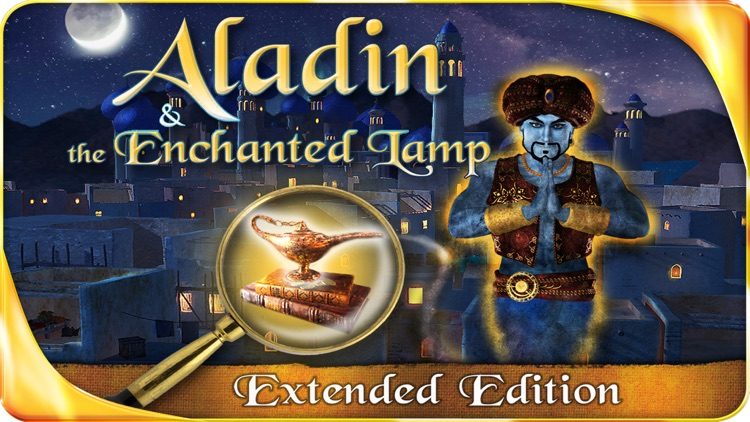 Aladin and the Enchanted Lamp (FULL) - Extended Edition - A Hidden Object Adventure screenshot-0