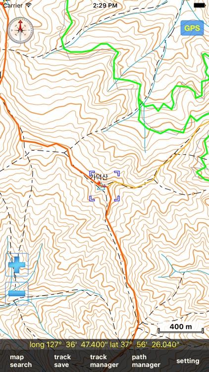 eSan Mountain GPS Track Map screenshot-3