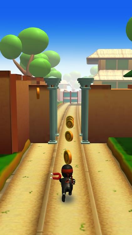 Ninja Runner 3D screenshot-4