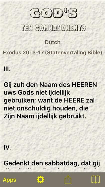 God's Ten Commandments screenshot-4