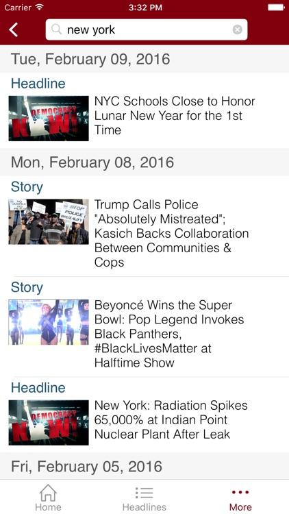 Democracy Now! screenshot-4