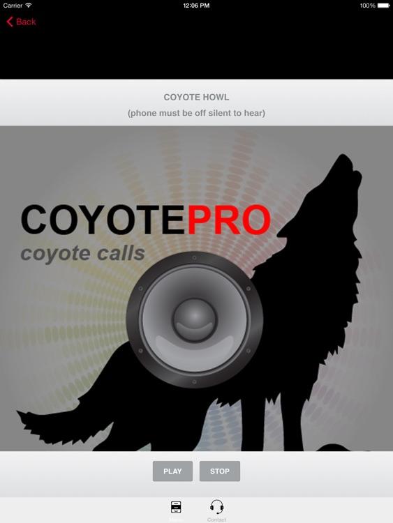 REAL Coyote Hunting Calls-Coyote Calling Predators screenshot-0