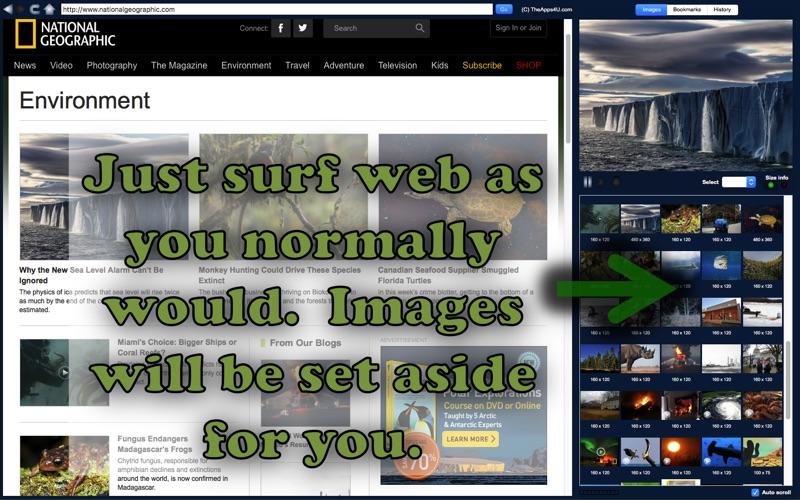 Web Image Grab Screenshot