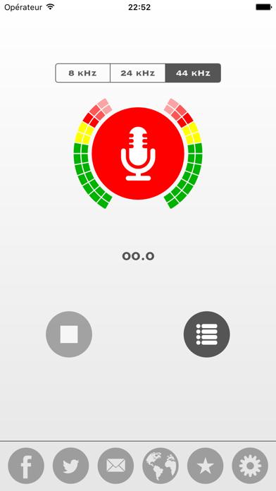 Screenshot #2 pour My Rec - Enregistreur Audio