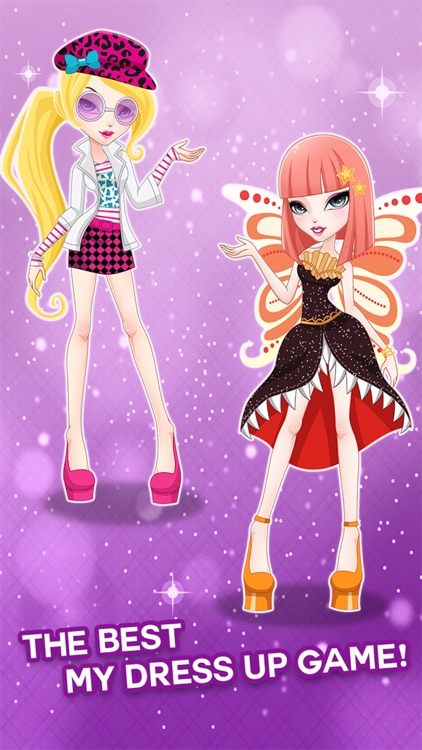 "Dress-up "" Hollywood Girls "" : The Monster girl high school lift fashion winx ever after game"
