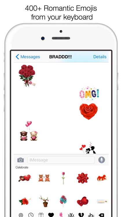 Adult Emoji Keyboard- Valentines Day Stickers & Emoticons For Texting