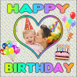 Happy Birthday Photo Frames and Styles