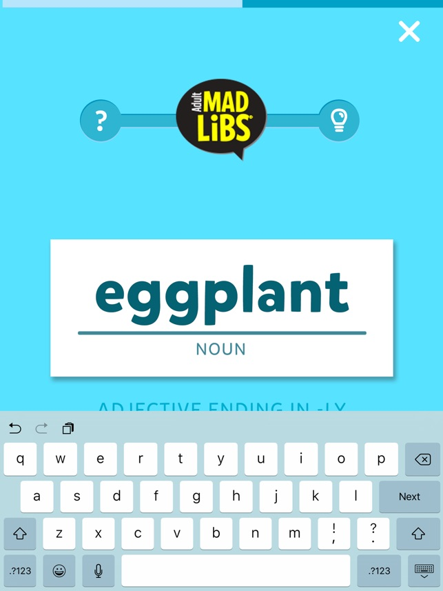 Adult Mad Libs on the App Store