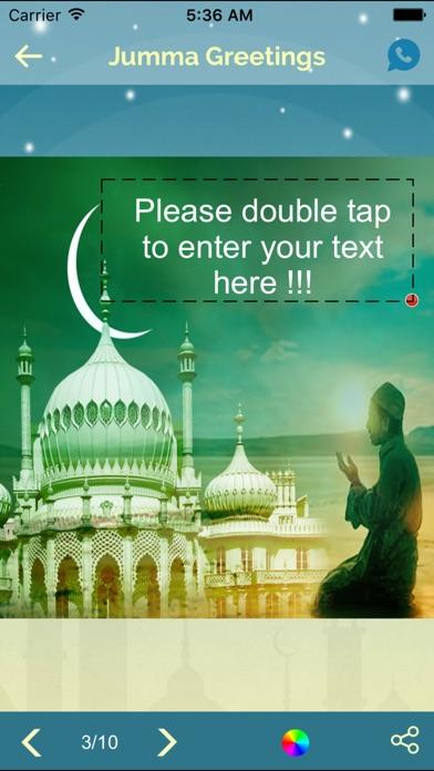 Add text create jumma mubarak emojis greetings ios app download add text create jumma mubarak emojis greetings 2 m4hsunfo