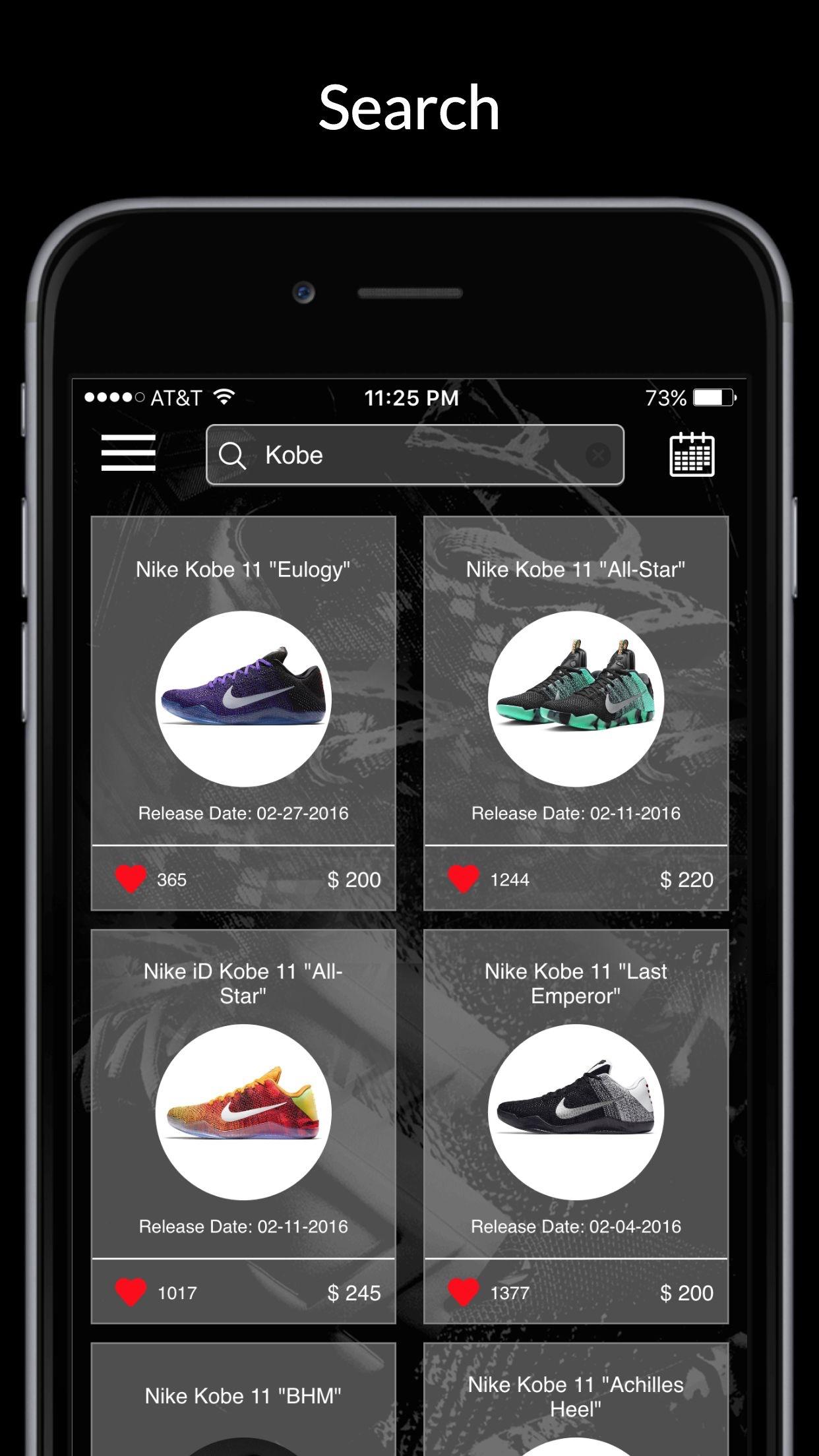 Kicks: Release Dates & Sneaker News Screenshot