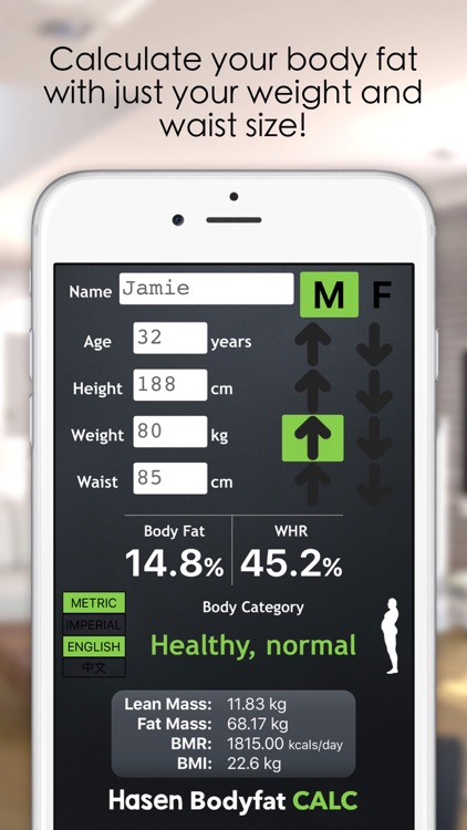 Bodyfat Calculator 3