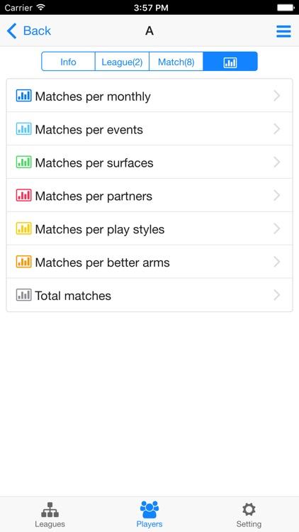 Tennis Tournament Maker screenshot-4
