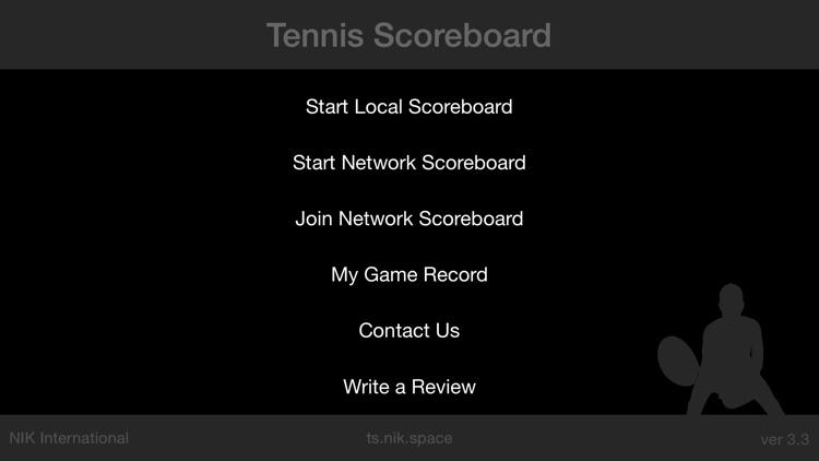 Tennis Scoreboard screenshot-4
