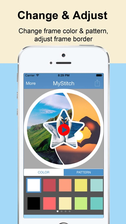 myStitch Video Collage - the best video collage maker for instagram, vine and youtube screenshot-3