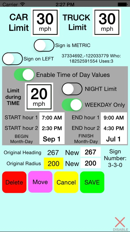 SpeedMinder Speed Limit App screenshot-2
