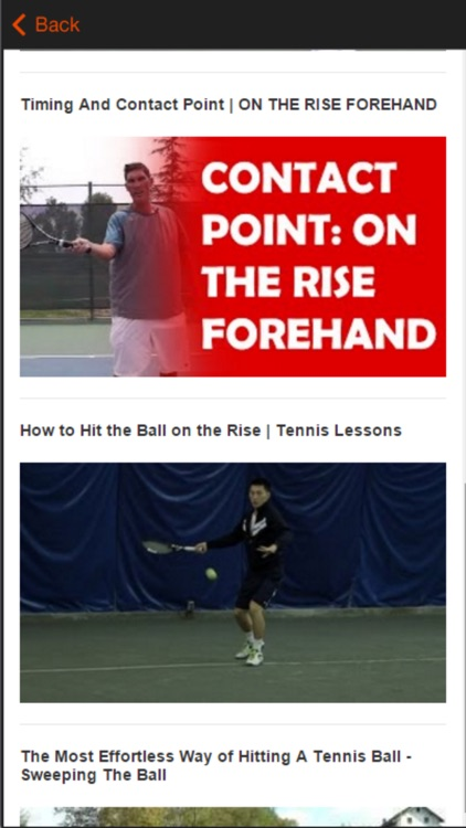 Tennis Tips Improve Your Strokes and Strategy screenshot-4