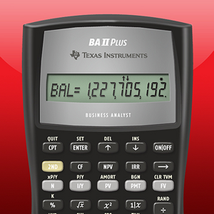 BA II Plus(tm) Financial Calculator app