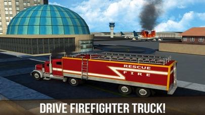 レアル空港トラック運転手:緊急消防士救助のおすすめ画像4